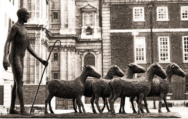 Urban Shepherd 2 Print by Joanna Madloch