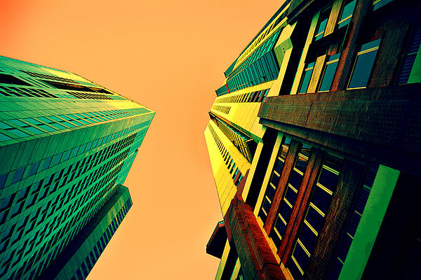 Urban Sky Print by Andrei SKY