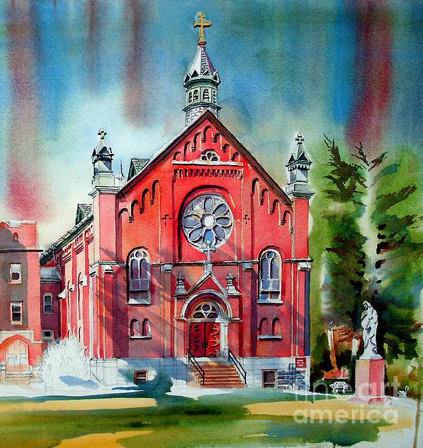 Ursuline Academy Sanctuary Print by Kip DeVore