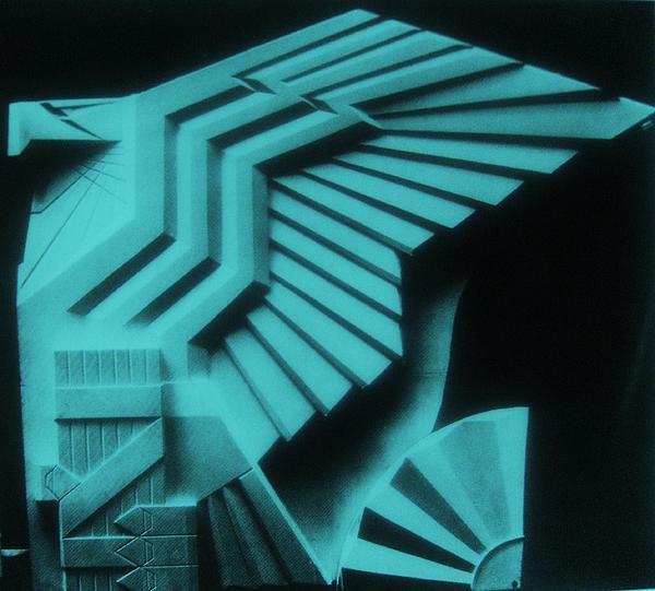 Usa Eagle Sculpture -  Art Deco Print by Gunter  Hortz