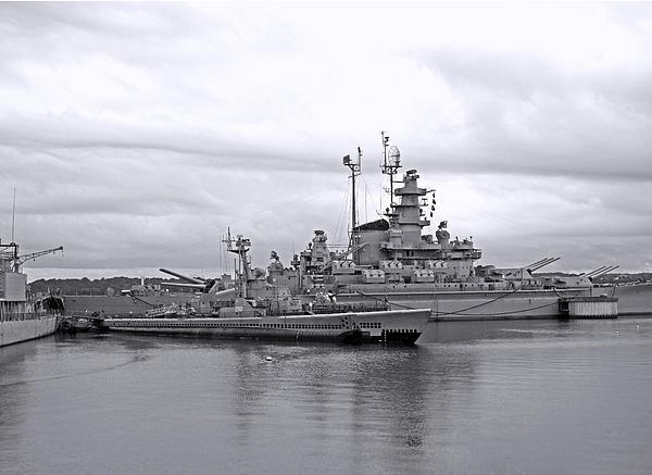 Barbara McDevitt - USS Lionfish bw