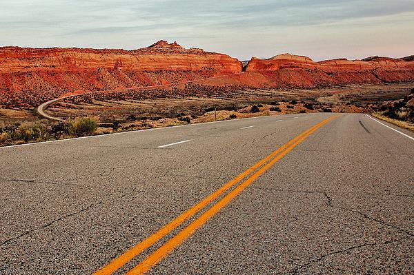 Utah Highway Print by Benjamin Yeager