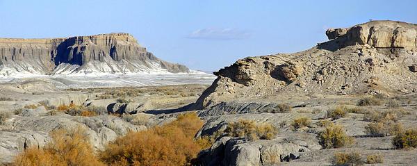 Utah Outback 42 Panoramic Print by Mike McGlothlen
