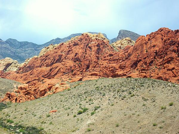 Valley Of Fire Print by Christopher Fridley