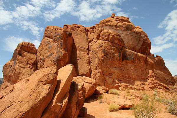 Christiane Schulze - Valley Of Fire Red Sandstone Formation