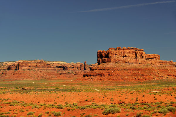 Valley Of The Gods - See What The Gods See Print by Christine Till