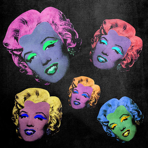 Vampire Marilyn 5b Print by Filippo B