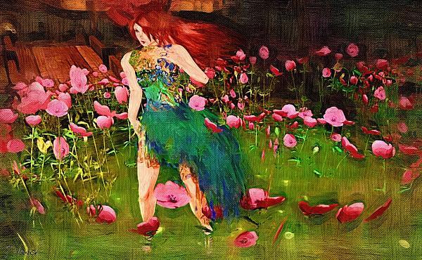 Van Gogh Style Art Print Print by J Nance