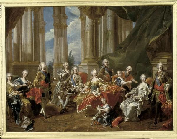 Van Loo, Louis Michel 1707-1771. Philip Print by Everett
