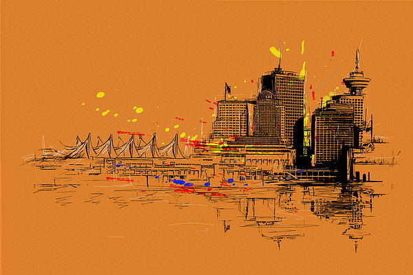 Vancouver Art 006 Print by Catf