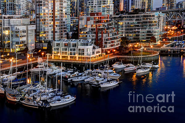 Vancouver British Columbia 10 Print by Bob Christopher