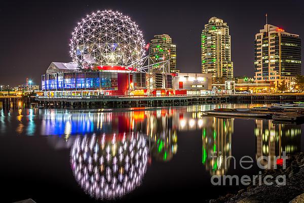 Sabine Edrissi - Vancouver Science World in False Creek - by Sabine Edrissi