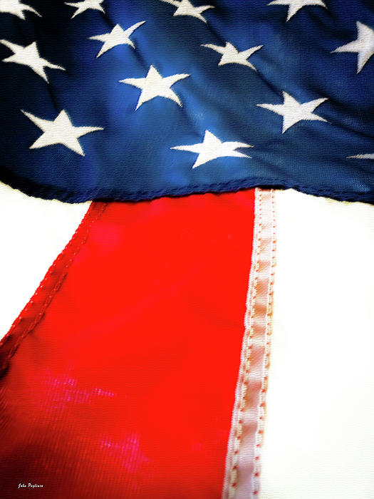 Variations On Old Glory No.1 Print by John Pagliuca