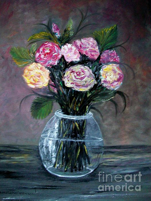 Variety  Roses Print by Rhonda Lee