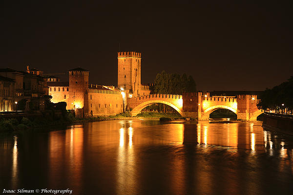 Varona Castel Vecchio Italy Print by Isaac Silman