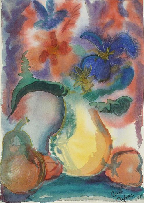 Carol Oufnac Mahan - Vase still life 1