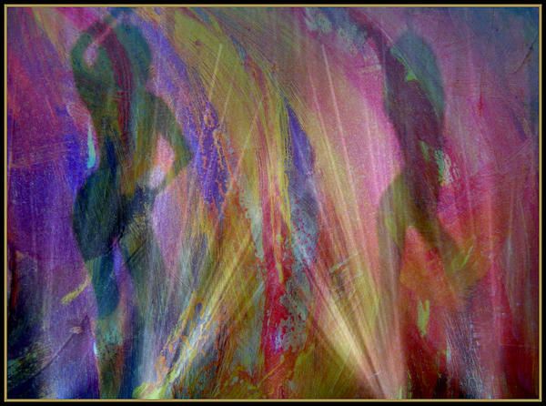Veil Of Seduction Print by Irma BACKELANT GALLERIES