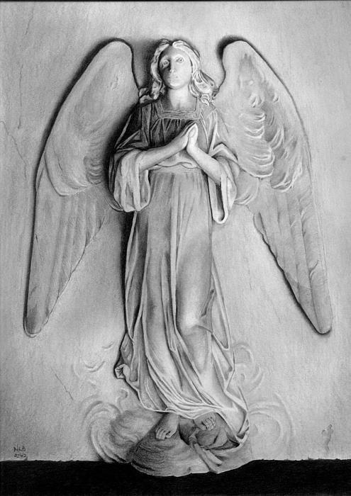 Venetian Angel Print by Nicola Butt