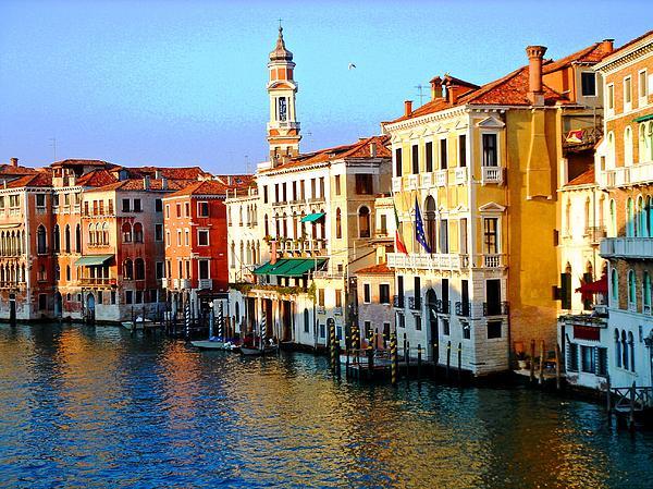 Venezia Grand Canal Print by Phillip Allen