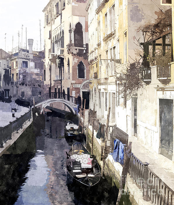 Venice 1 Print by Julie Woodhouse