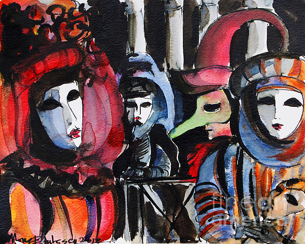 MONA EDULESCO - Emona Art - Venice Carnival 1
