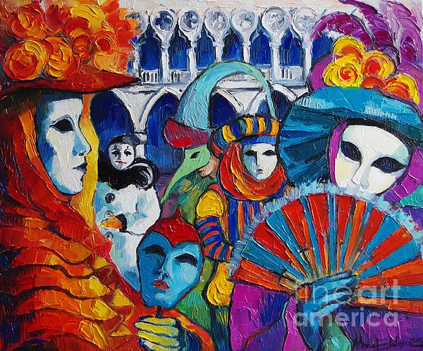 MONA EDULESCO - Emona Art - Venice Carnival