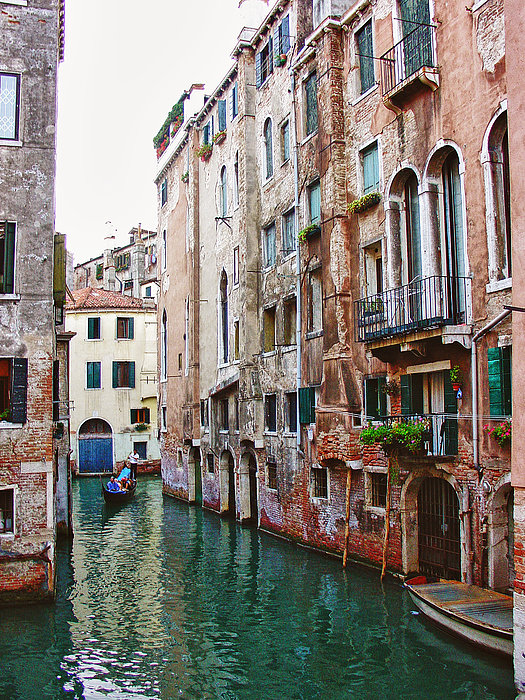 Venice City Of Water 2 Print by Julie Palencia