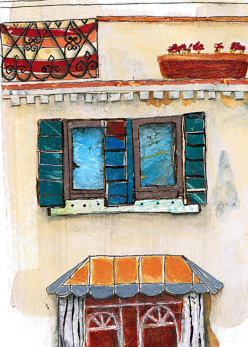 Venice Italy Building Print by Robin Luther