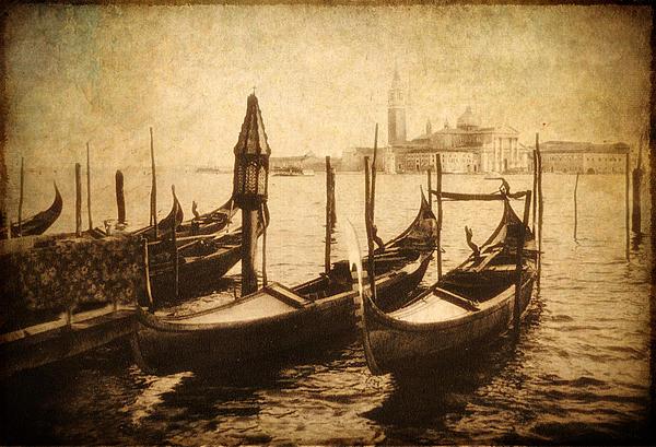 Venice Postcard Print by Jessica Jenney