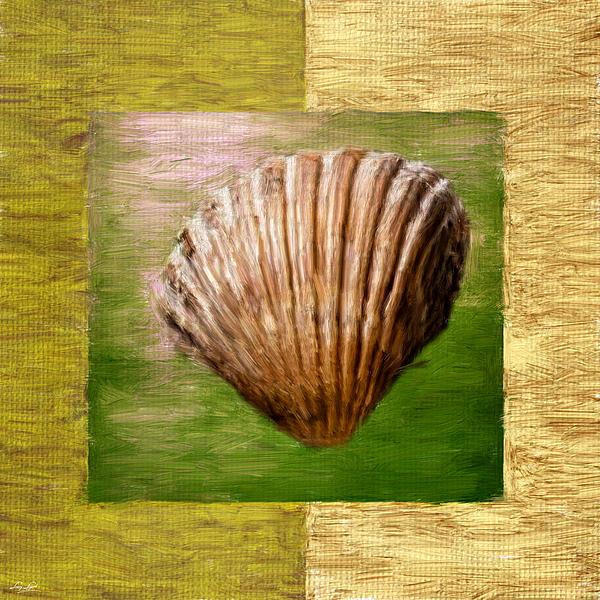 Verde Beach Print by Lourry Legarde