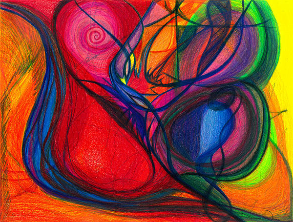 Vibrational Heart Healing - Sounds Of Radiant Joy ' Purity Of Heart ' Soul ' Mind And Body Aligned Print by Daina White