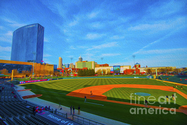 Victory Field 1 Print by David Haskett