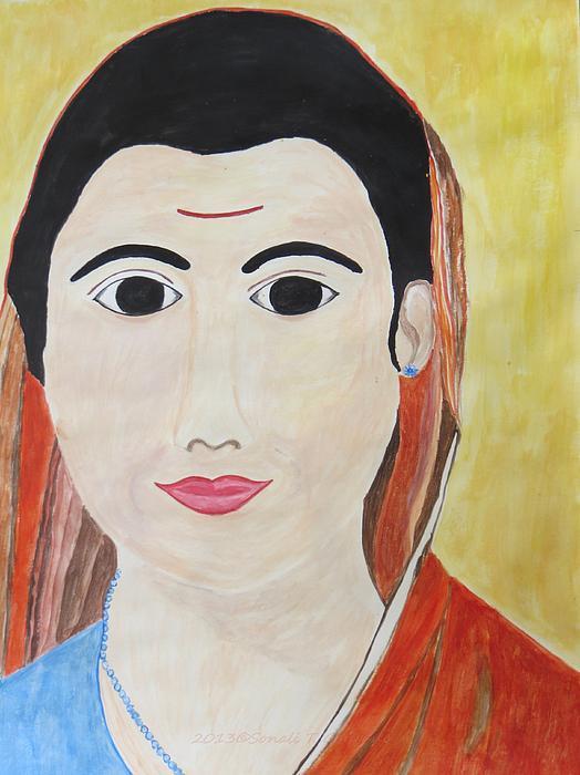 Vidya Jyoti Print by Sonali Gangane