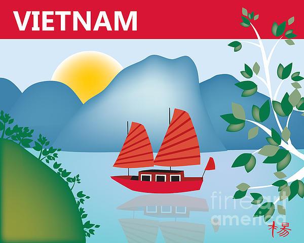 Vietnam Print by Karen Young