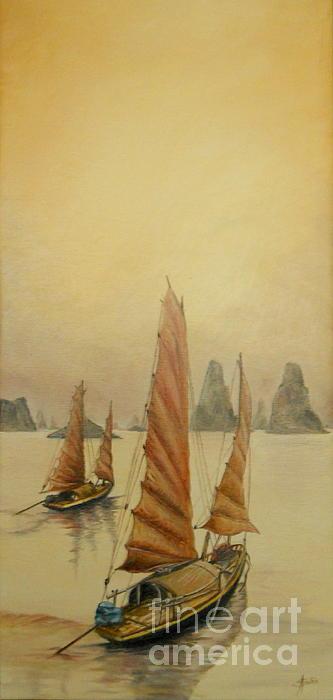 Vietnam Print by Sorin Apostolescu