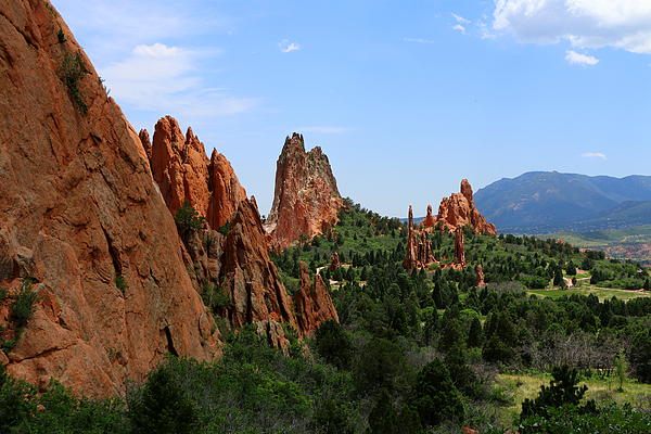 Christiane Schulze - View Of Cathedral Valley - Garden Of Gods