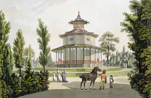 View Of The Chinese Summer House Print by Laurenz Janscha
