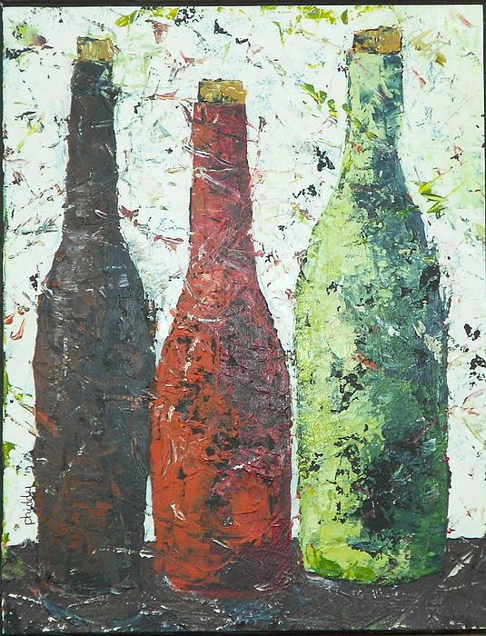 Vino 2 Print by Phiddy Webb