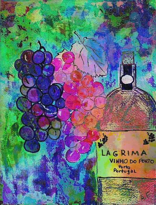 Vino  Print by Ana Julia Fishman