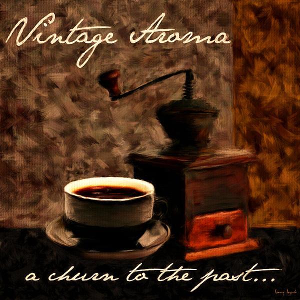 Vintage Aroma Print by Lourry Legarde