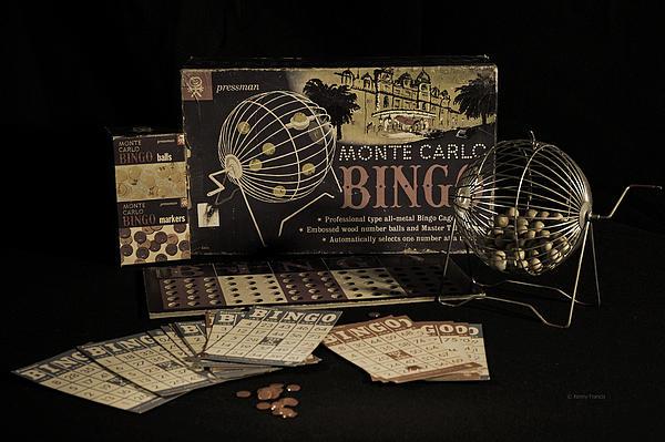 Kenny Francis - Vintage Bingo Game