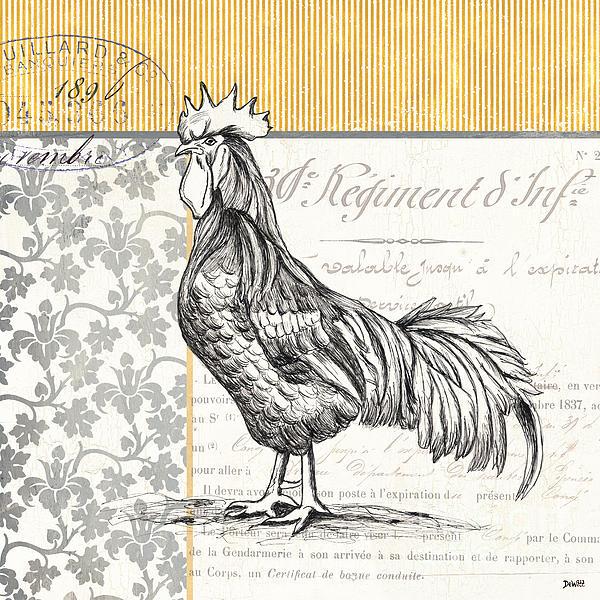 Vintage Farm 2 Print by Debbie DeWitt