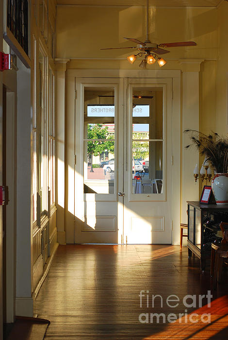 Connie Fox - Vintage Foyer Filled With Light - The Ant Street Inn