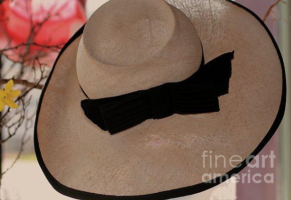Vintage Picture Hat Print by Kathleen Struckle