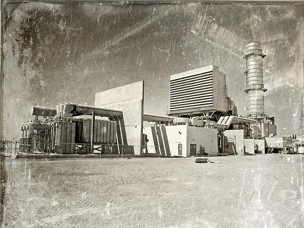 Vintage Power Print by Paul Fell
