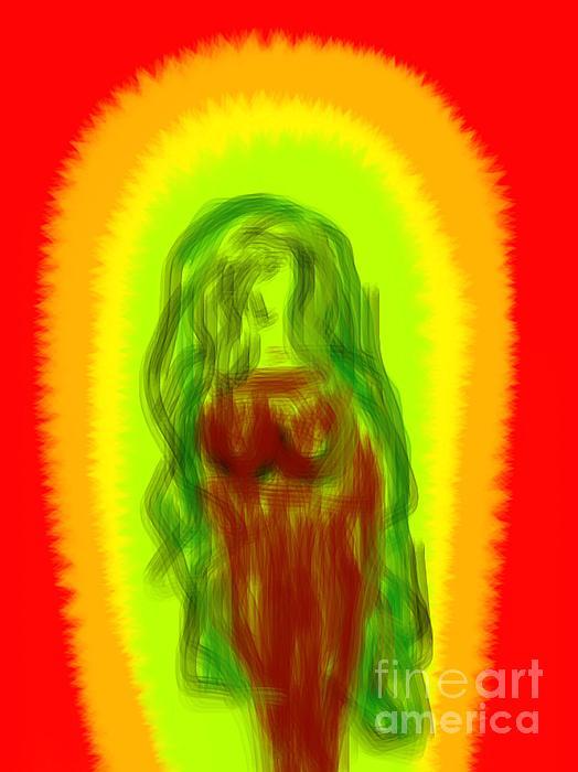 Virgin Of Seduction Print by James Eye