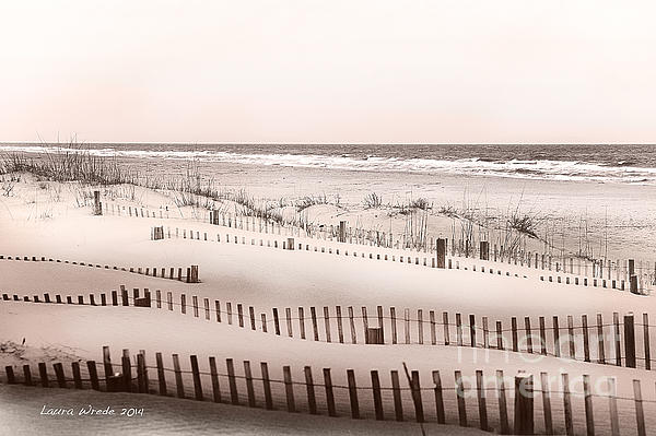 Virgina Beach Vacation Memories Print by Artist and Photographer Laura Wrede