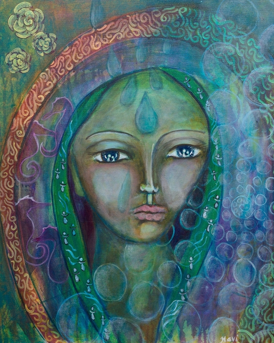 Havi Mandell - Visioning Woman of Living Waters