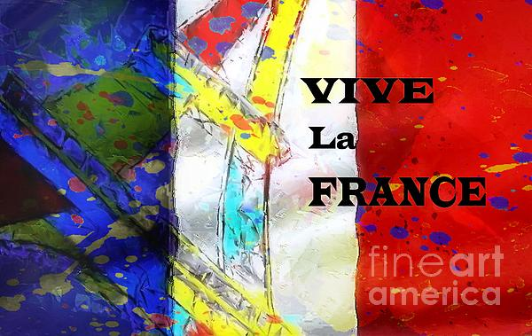 Vive La France Print by Brian Raggatt