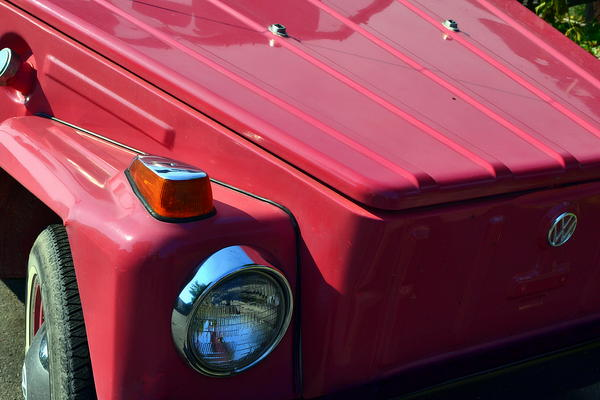 Volkswagen Thing Print by Michelle Calkins